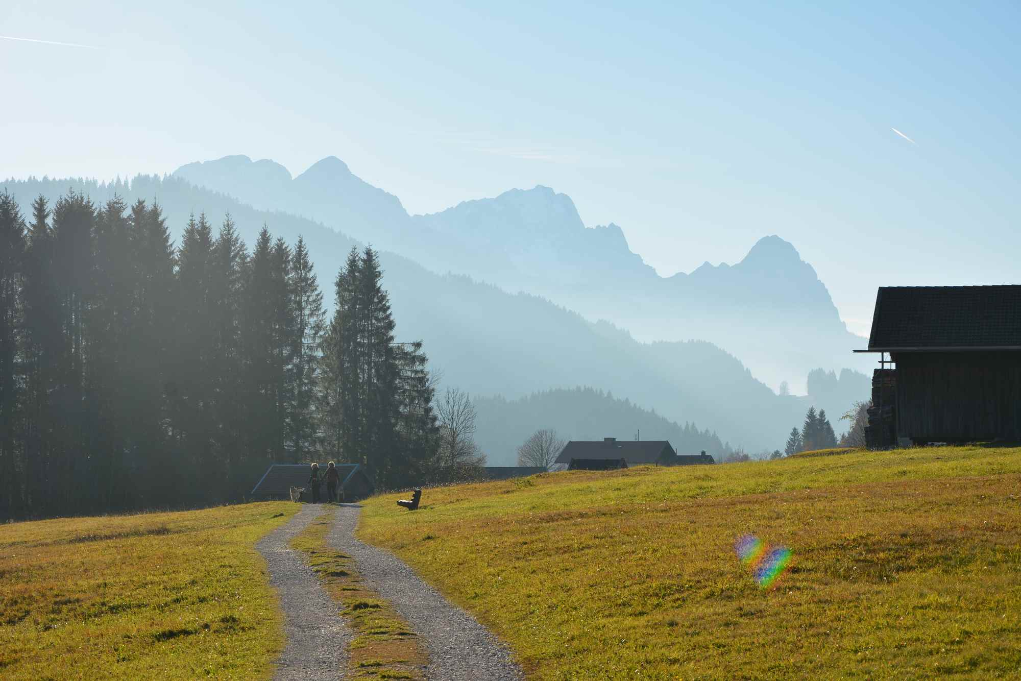 So liebe ich das Wettersteingebirge - ruhig und kraftvoll, bei Mittenwald