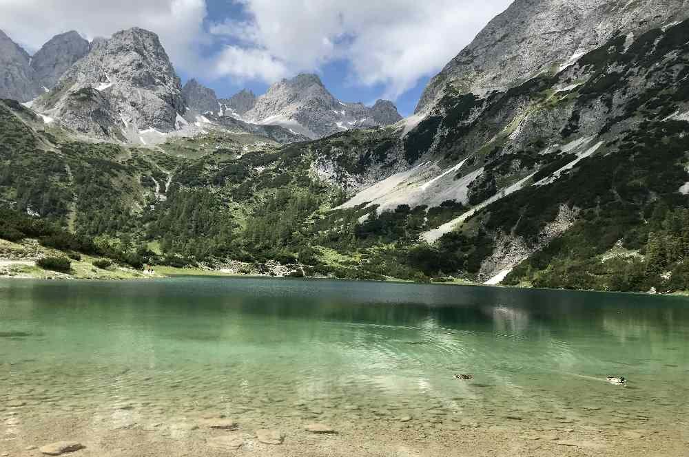So schön ist der Seebensee - zum schönsten Platz in Tirol gewählt!