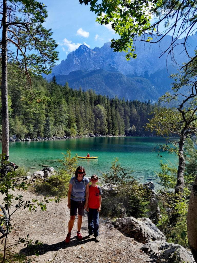 Rund um den Eibsee im Wettersteingebirge wandern